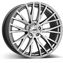 AEZ Panama high gloss 20x10 silver