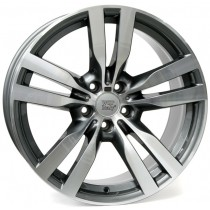WSP Italy Pandora 20x11 5x120 ET37 74,1 anthracite polished