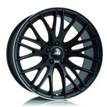 ATS Perfektion 17x8 racing-black lip polished