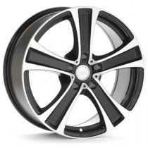 Platin PL56 15x6,5 black polished