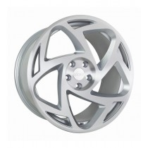 RADI8 R8S5 19x10 Silver Polished