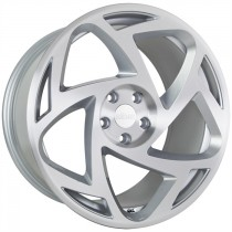 RADI8 R8S5 20x10 Silver Polished
