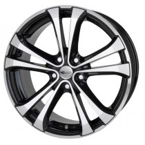Brock RC 17 16x7 black polished 16x7