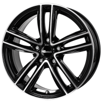 Brock RC27 18x8 black polished