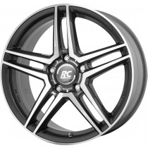 Brock RC17 17x7 5x112 grey polished