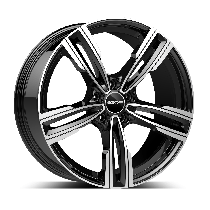 GMP Reven Black Diamond 17x7.5 5x120