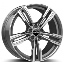 GMP Reven Anthracite Diamond17x7.5 5x120