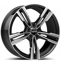 GMP Reven Black Diamond 17x8.0 5x120 ET30 72.60