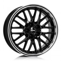 Rial Norano 18x8,5 black front polished