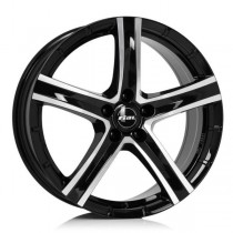 Rial Quinto 20x9,5 black front polished