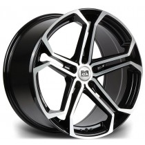 Riviera Atlas 20x8,5 Black Polished