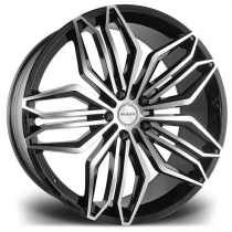Riviera RV180 22x10 Black Polished