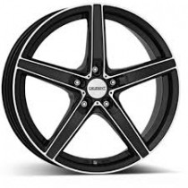 Dezent RN black polished 6,5x15 5x108 ET48 70,1 x8