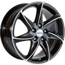 Ronal R51 18x8 black polished