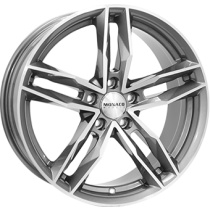 Monaco RR8M 17x7,5 anthracite polished