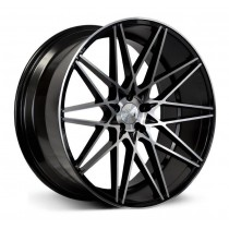 1AV ZX4 22x9 Black Polished