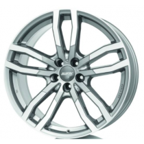 Alutec Drive X 19x8,5 metal grey front-polished