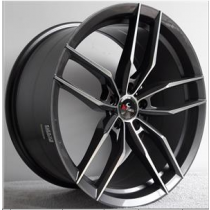 Kmann SV3 19x8,5 Gunmetal Polished