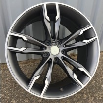 R Line B030 17x8 5x120 ET35 72,6 anthracite polished