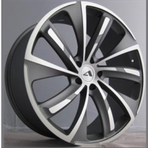 SAS Turbine 22x9,5 Matt Gunmetal Polished