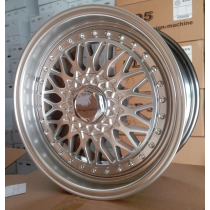 Racing Line RLBY479 silver with polished lip 18x8 5x112/120 ET20 74,1