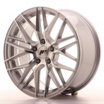 Japan Racing JR28 20x8,5 silver machined