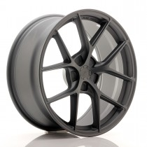 Japan Racing SL01 18x8,5 blank matt gun metal