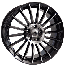 Forzza Spike 18x8 5x112 ET40 66,56 black polished