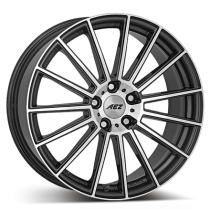 AEZ Steam 18x8 gunmetal polished