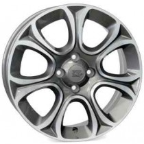 WSP Italy Susa 16x6 4x98 ET45 58,1 anthracite polished