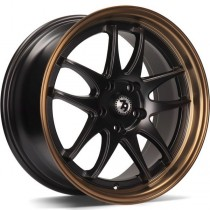 Seventy9 SV-I 16x7 black matt / bronze lip