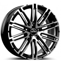 GMP Targa Black Diamond 21x9.0 5x112 ET26 66.60
