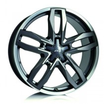 ATS Temperament 18x8,5 blizzard-grey lip polished