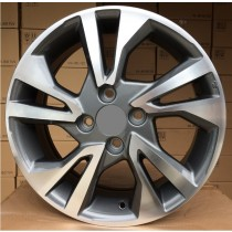 R Line HOTL0397 grey polished 15x5,5 4x100 ET45 56,1