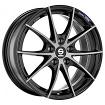 Sparco Trofeo 5 18x8 black polished