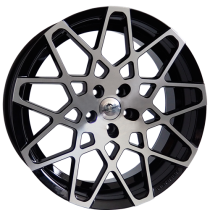 Forzza Spider black polished 20x9 5/120 ET32 72,56