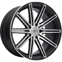 Forzza Vertin 18x8 5x112 ET35 66,5 YU7103 grey matt polished TS