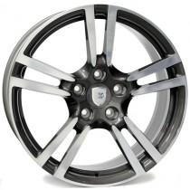 WSP Italy Saturn W1054 20x9 anthracite polished