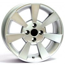 WSP Italy 500 Diamante W156 16x6,5 silver polished