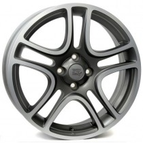 WSP Italy Grace W162 15x6 anthracite polished