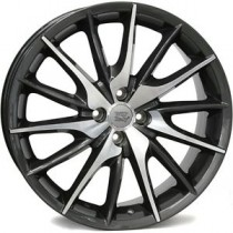 WSP Italy FiRe MiTo W254 17x7 anthracite polished
