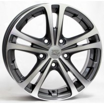 WSP Italy Danubio W3502 17x7 anthracite polished