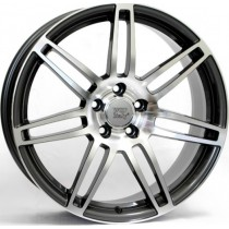 WSP Italy S8 Cosma W554 18x8 anthracite polished