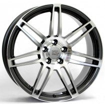 WSP Italy S8 Cosma Two W557 17x7,5 anthracite polished