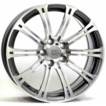 WSP Italy M3 Luxor W670 17x8 anthracite polished