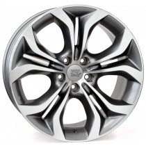 WSP Italy Aura W674 19x10 anthracite polished