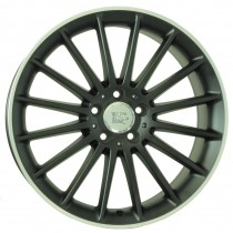 WSP Italy Shanghai W773 19x8,5 dull black front polished