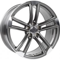 WheelWorld WH27 18x8 Grey Polished