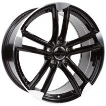 WheelWorld WH27 21x9,5 Black Polished