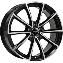 WheelWorld WH28 18x8 Black Polished